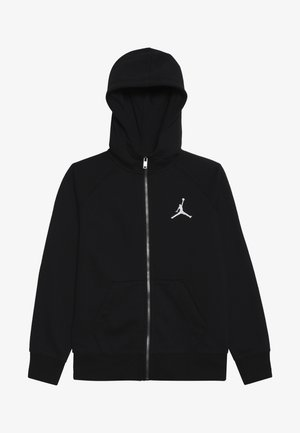 JUMPMAN FULL ZIP - Mikina na zip - black