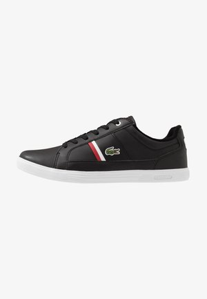 EUROPA - Sneaker low - black/white