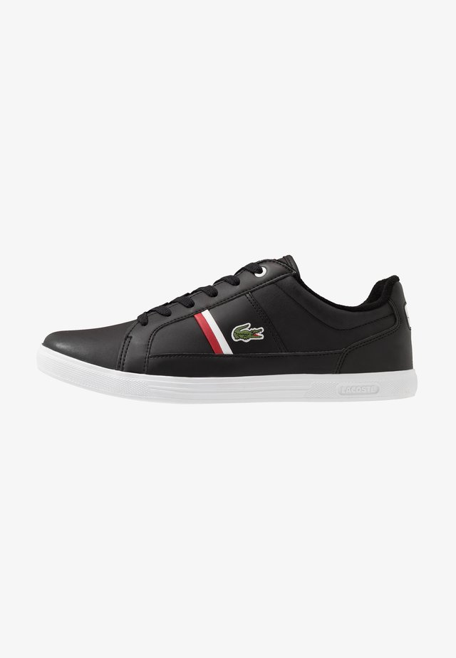 EUROPA - Sneakers laag - black/white