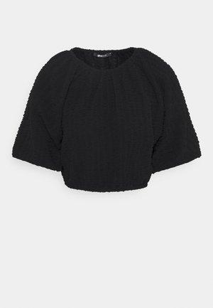 EDINA - T-shirts - black