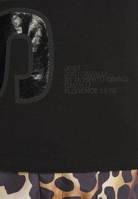 Just Cavalli - Triko spotiskem - black - 7