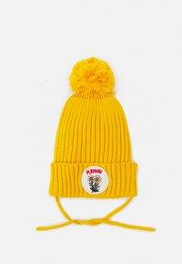Mini Rodini - EDELWEISS POMPOM HAT UNISEX - Beanie - yellow - 0