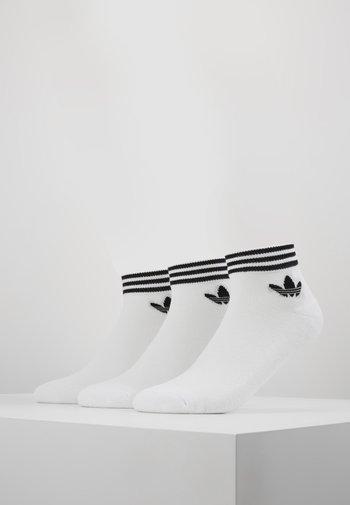 3 PACK - Socks - white/black