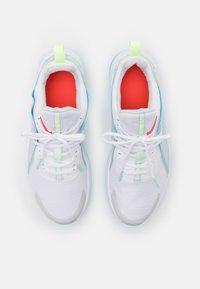 Nike Performance - AIR MAX BELLA TR 3 - Sports shoes - white/bright crimson/pure platinum - 3
