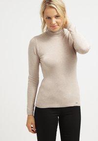 More & More - Sweter - light camelmelange - 0
