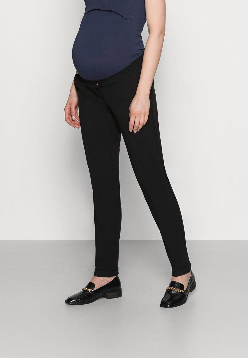 MAMALICIOUS - MLCERISE PANT - Spodnie materiałowe - black