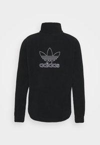 adidas Originals - TREFOIL - Fleece jumper - black - 1