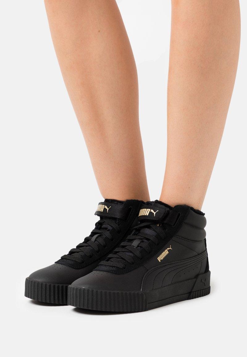 Puma - CARINA MID  - Sneakers basse - black