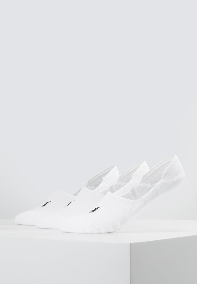 POLY BLEND 3 PACK - Füßlinge - white/black