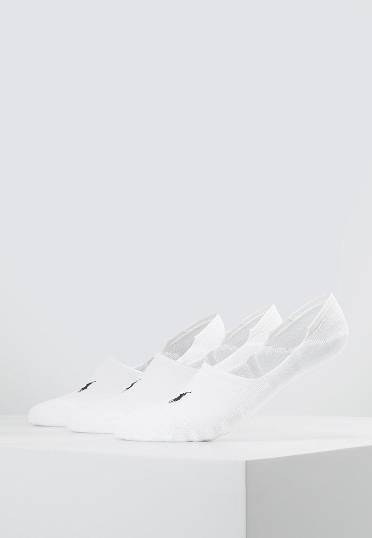 Polo Ralph Lauren - POLY BLEND 3 PACK - Trainer socks - white/black