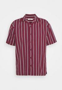 Jack & Jones PREMIUM - JPRBLASTRIPE RESORT SHIRT - Shirt - zinfandel - 4