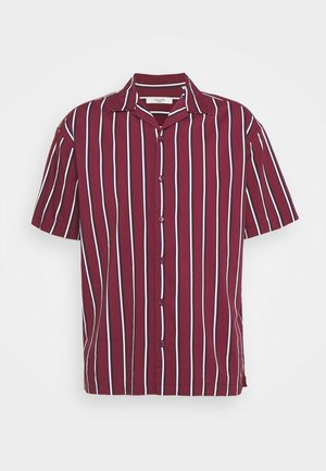 JPRBLASTRIPE RESORT SHIRT - Shirt - zinfandel
