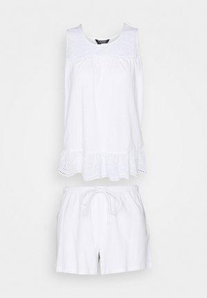 BOXER SET - Pyjamas - white