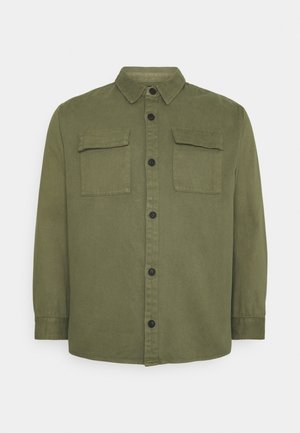 UTILITY OVERSHIRT MORE - Lehká bunda - army
