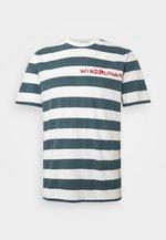 BEACH STRIPE TWIN - T-shirt imprimé - blue
