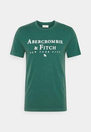 CROSS CHEST TECH - T-shirt imprimé - dark green