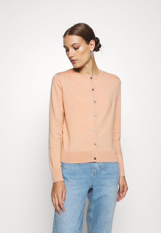 CARDIGAN - Strickjacke - pink blush
