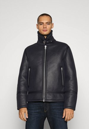 JOREAGLE JACKET - Faux leather jacket - black