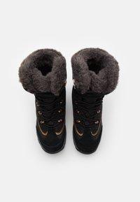 Jack Wolfskin - ASPEN TEXAPORE HIGH  - Winter boots - black/dark grey - 3