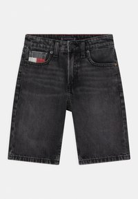 Tommy Hilfiger - MODERN STRAIGHT  - Denim shorts - grey denim - 0