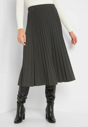A-line skirt - dunkelgrau meliert