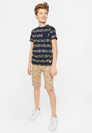 WE FASHION JONGENS T-SHIRT MET GEMIXT DESSIN - Print T-shirt - all-over print