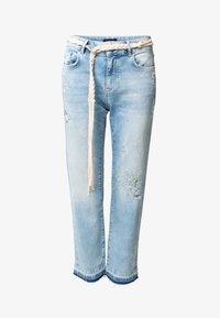 Desigual - PONDIO - Straight leg jeans - blue - 3