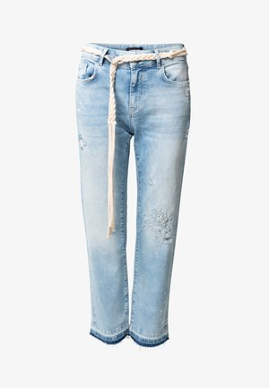 PONDIO - Straight leg jeans - blue