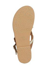 Mango - Sandals - gold - 3