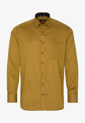 MODERN FIT - Shirt - senfgelb