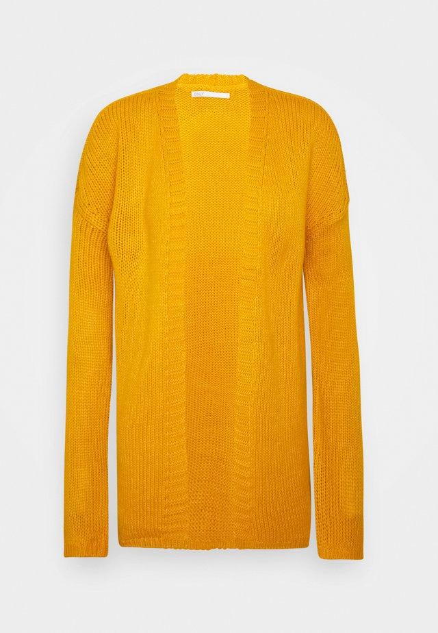 ONLLEXI CARDIGAN - Cardigan - golden yellow