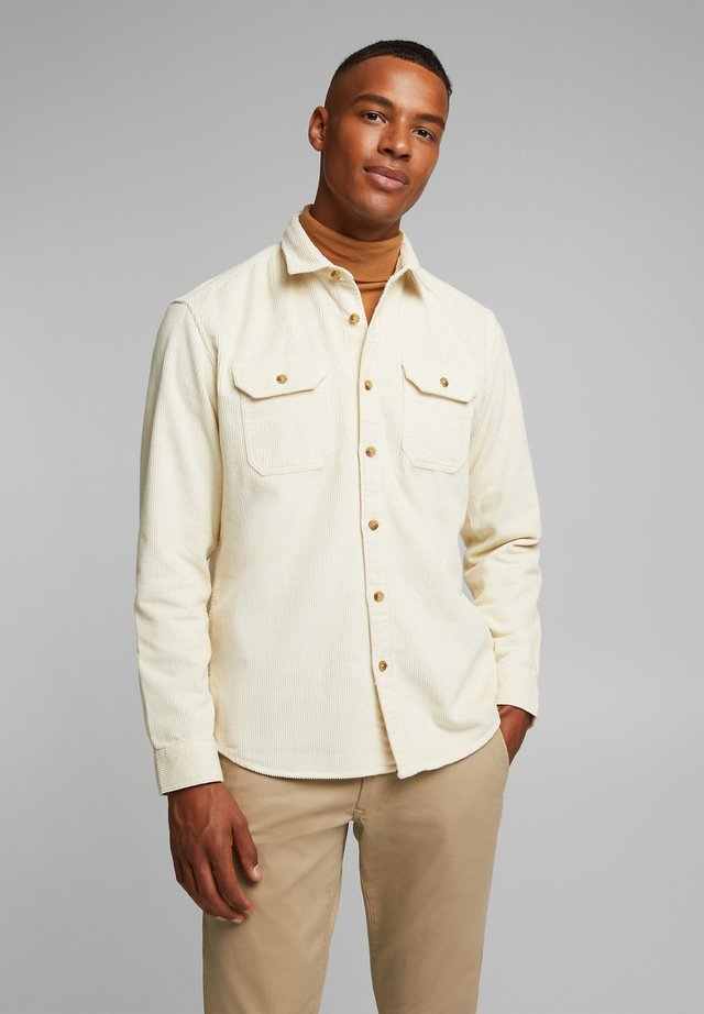 Shirt - cream beige