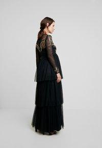 Maya Deluxe Maternity - EMBELLISHED BODICE MAXI DRESS - Maxikleid - black - 3