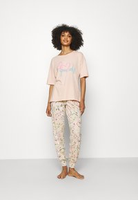 Marks & Spencer London - LOVE  - Pijama - peach mix - 1