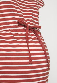 ONLY - OLMMAY LIFE DRESS - Jersey dress - apple butter - 5