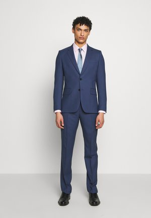 GENTS TAILORED FIT BUTTON SUIT - Kostuum - dark blue