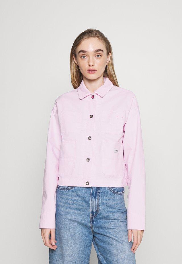 VESTED UTILITY JACKET - Waistcoat - pink foam