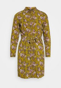 Vero Moda Petite - VMSAGA  - Shirt dress - fir green/stasia - 4