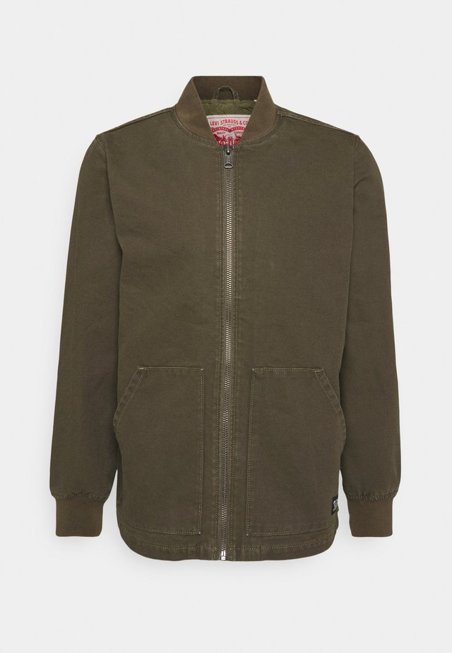 HUNTERS POINT WORKER - Winter jacket - olive night