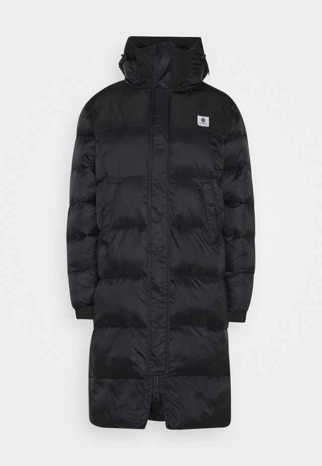 DULCEY PUFF LONG  - Winter coat - flint black