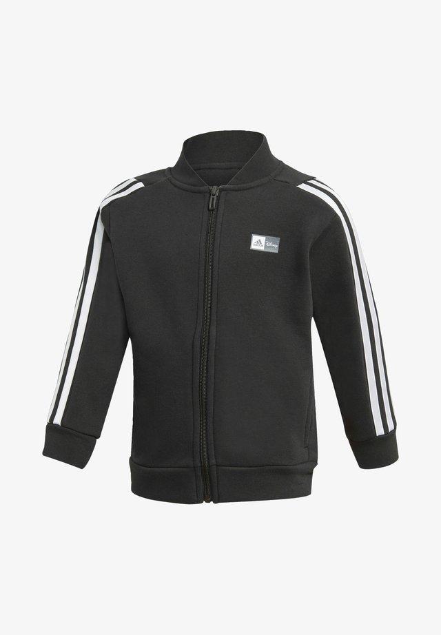 DISNEY MICKEY MOUSE TRACK - Zip-up hoodie - black