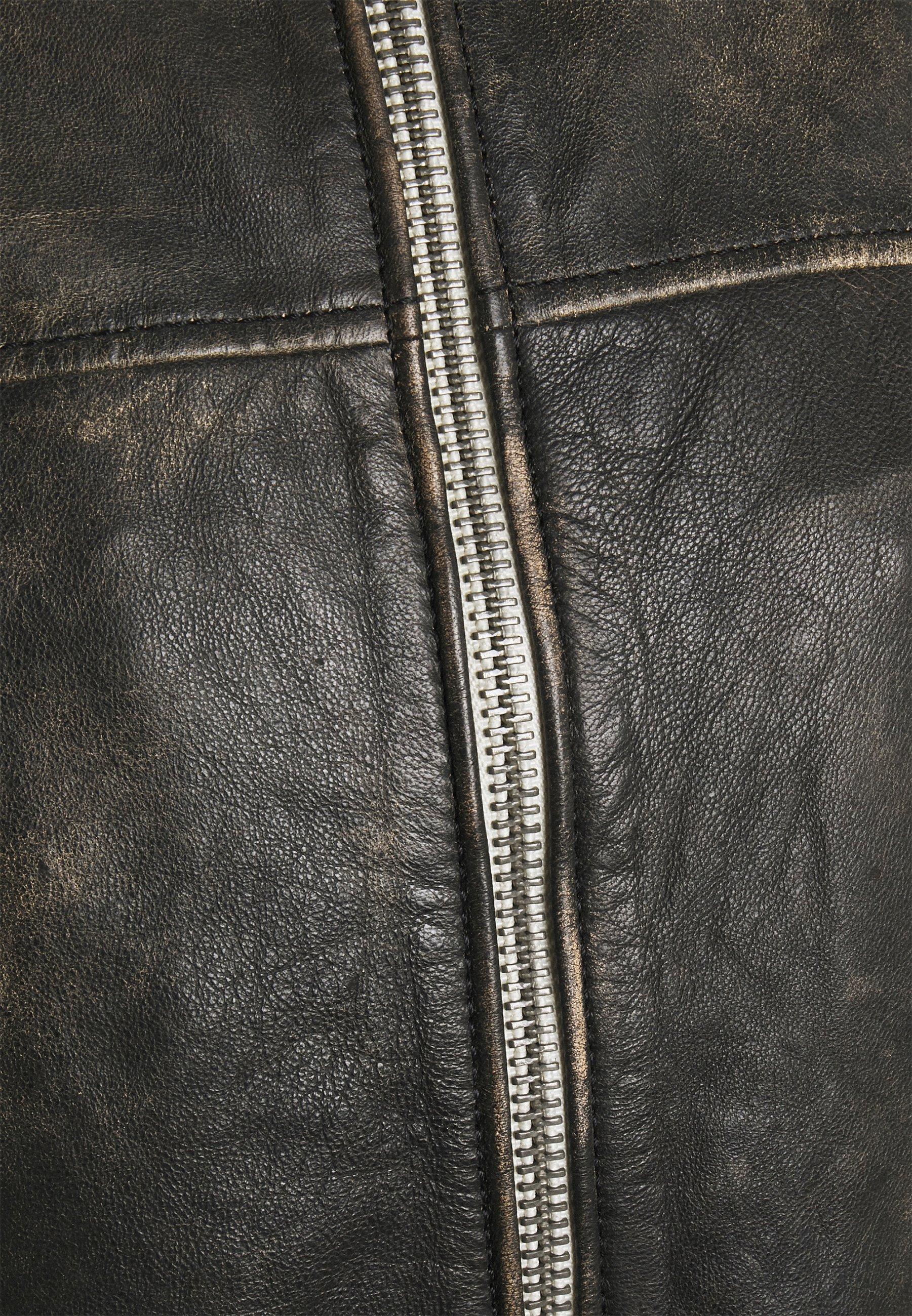 Men EAGLE ROCK VINTAGE BIKER - Leather jacket