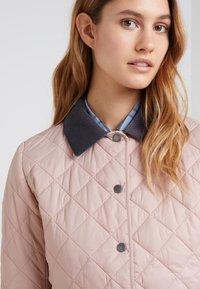 Barbour - DEVERON QUILT - Light jacket - pale pink/white - 5