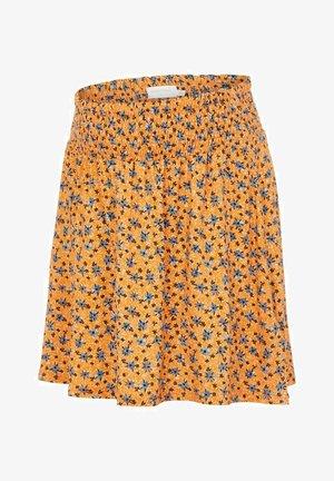 MLAYA - A-line skirt - yolk yellow