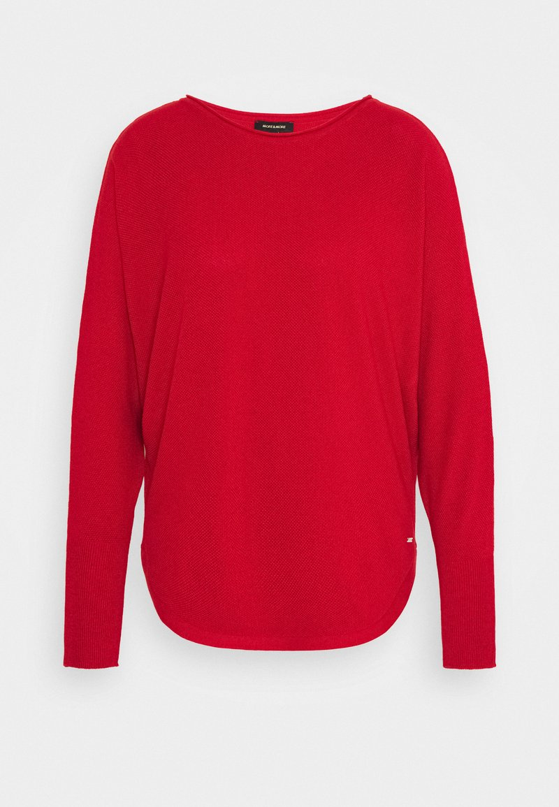 More & More - Jumper - autumn red