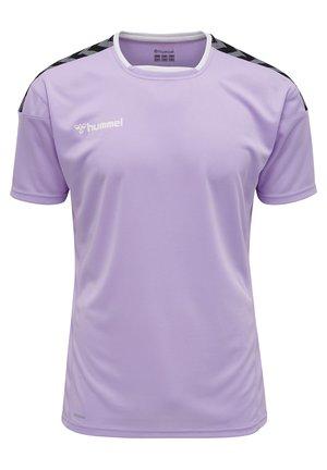 HMLAUTHENTIC - T-shirt print - lavendula