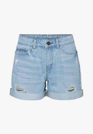 Denim shorts - light blue denim