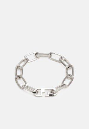 FIXTURE CLASP BRACELET - Bracelet - silver-coloured