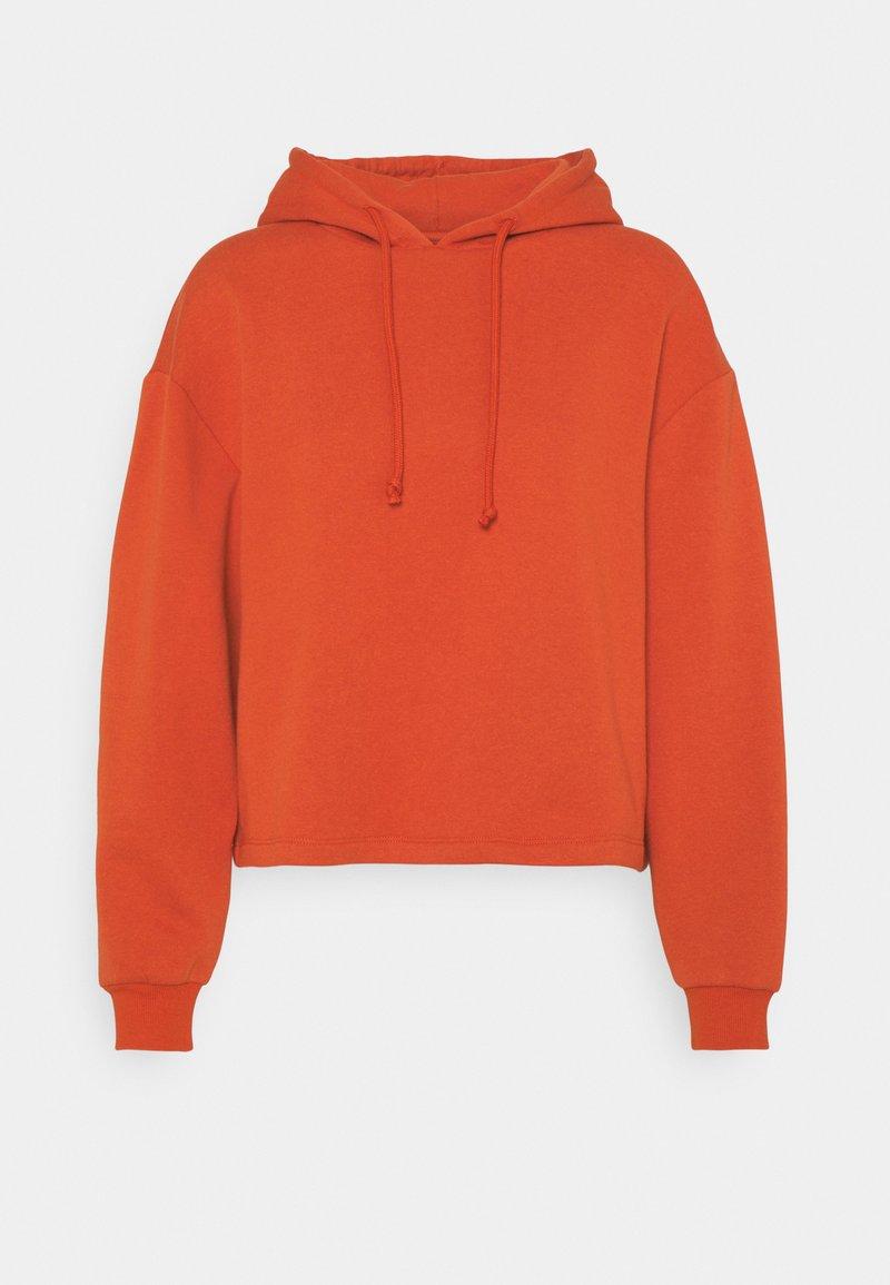 Pieces Petite - PCCHILLI HOODIE  - Sweatshirt - burnt ochre