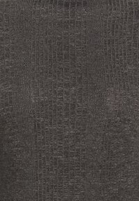 Selected Femme Petite - SLFLINNA  - Maglietta a manica lunga - dark grey melange - 2